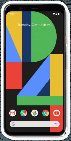 Google Pixel 4 XL white front