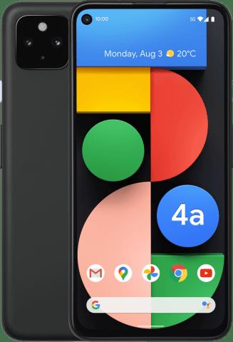 Google Pixel 4a 5G front-back