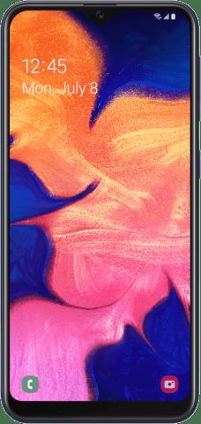 Samsung Galaxy A10e front