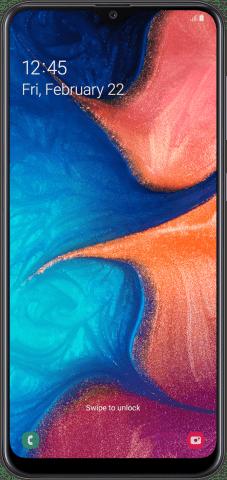 Samsung Galaxy A20 front