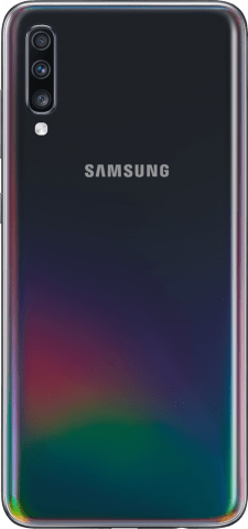 Samsung Galaxy A70 back