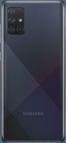 Samsung Galaxy A71 black front