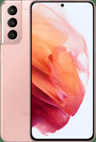 Samsung Galaxy S21 Phantom Pink Frontback