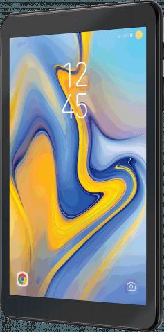 Samsung Galaxy Tab A angled view