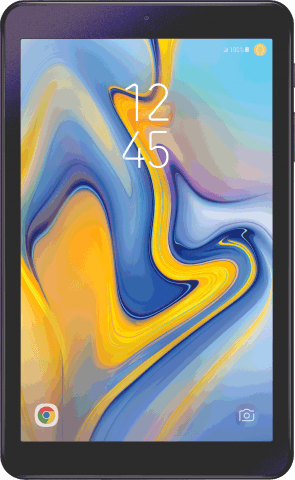 Samsung Galaxy Tab A front view