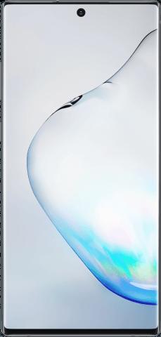Samsung Galaxy Note10+ Aura Black front