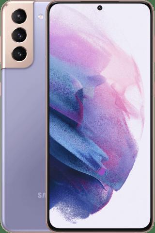 Samsung Galaxy S21+ Phantom Violet frontback