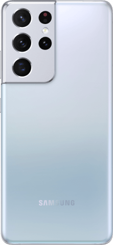 Samsung Galaxy S21 Ultra Phantom silver back