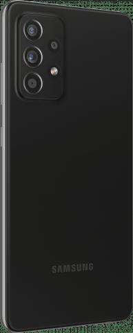 Samsung Galaxy A52 back angled