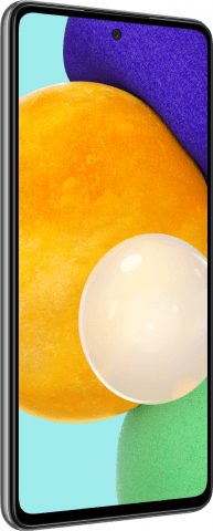 Samsung Galaxy A52 front angled