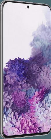 Samsung Galaxy S20 gray angled