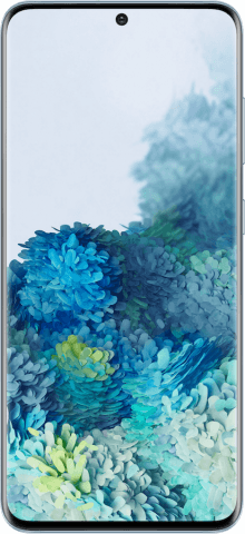 Samsung Galaxy S20 blue front
