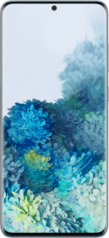 Samsung Galaxy S20+ blue front