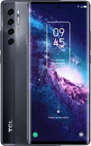 TCL 20 Pro 5G front and back