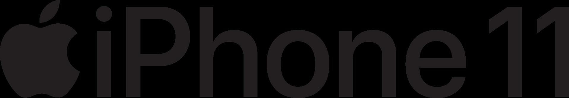 iPhone 11 Logo